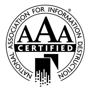 Total Shredding NAID AAA Certified
